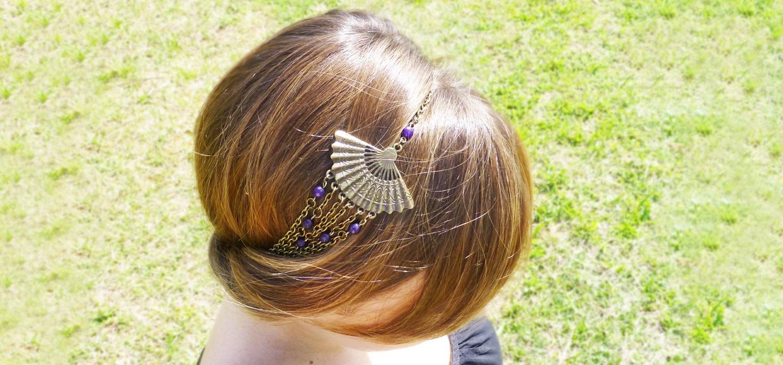 Bandeau à cheveux tendance bohème